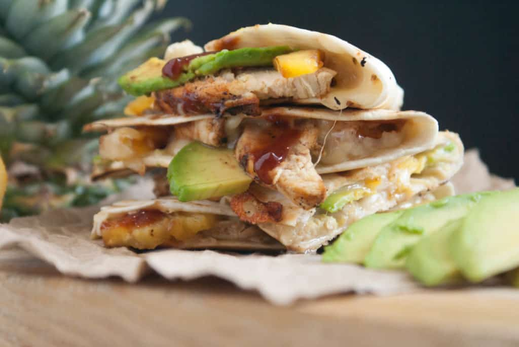 Grilled_Chicken_And_Pineapple_Quesadillas
