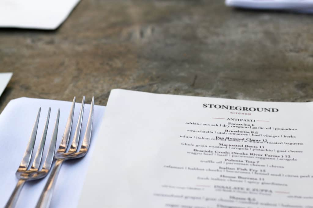 One of the best pizza/pasta places in SLC! Stoneground Kitchen | Female Foodie