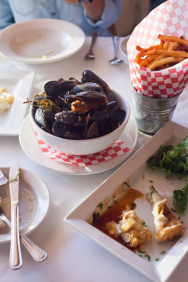 La Frite in San Antonio, Texas is a quaint bistro nestled in store fronts in south town. Come here for some of the best Belgian fare in town.