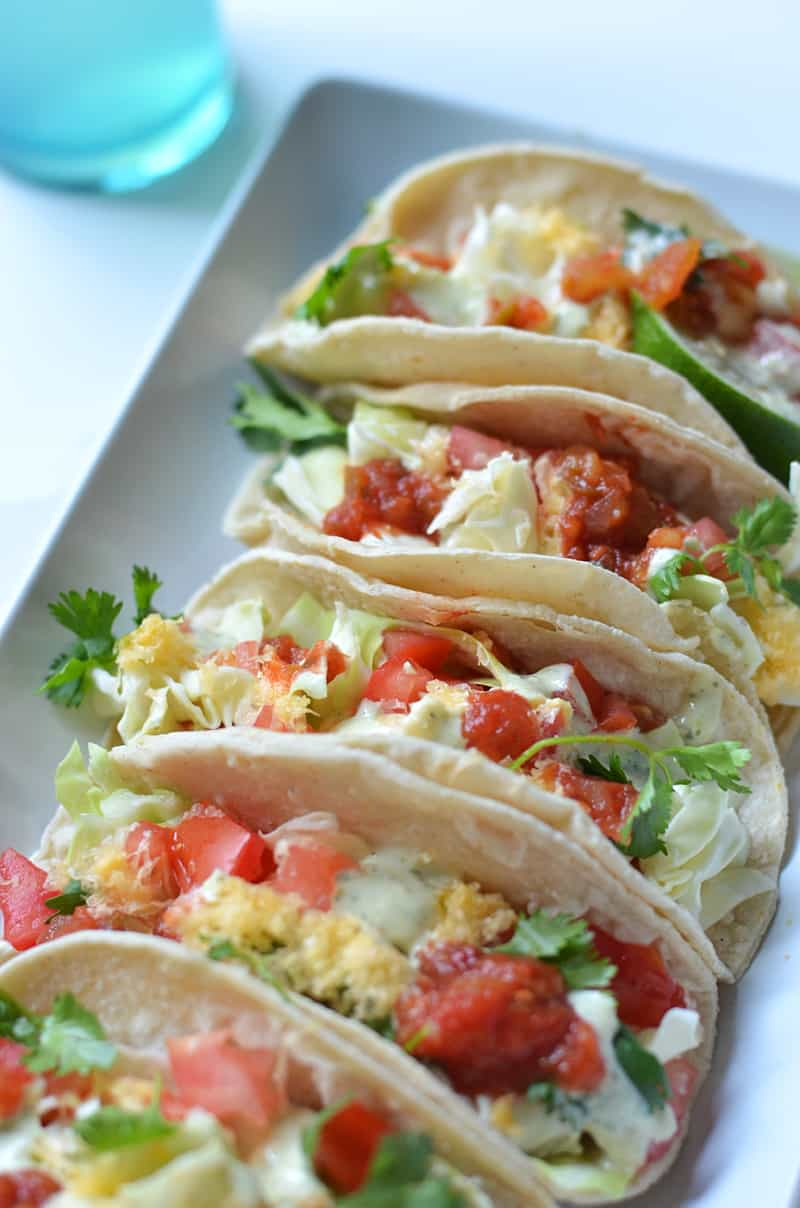 Tinfoil grilled fish tacos female foodie for White fish tacos