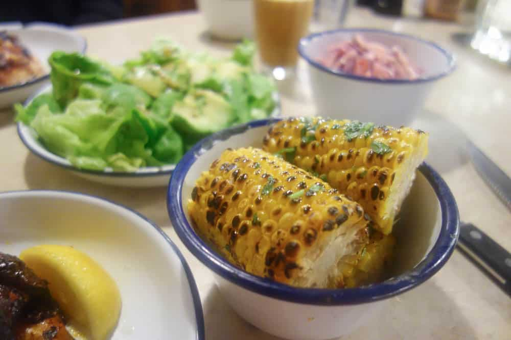 Chicken Shop is your go to place when your trying to be healthy(ish!) but still want to eat out. Spiced chicken, avocado salad and corn on the cob are some of the delicious options. More details at femalefoodie.com
