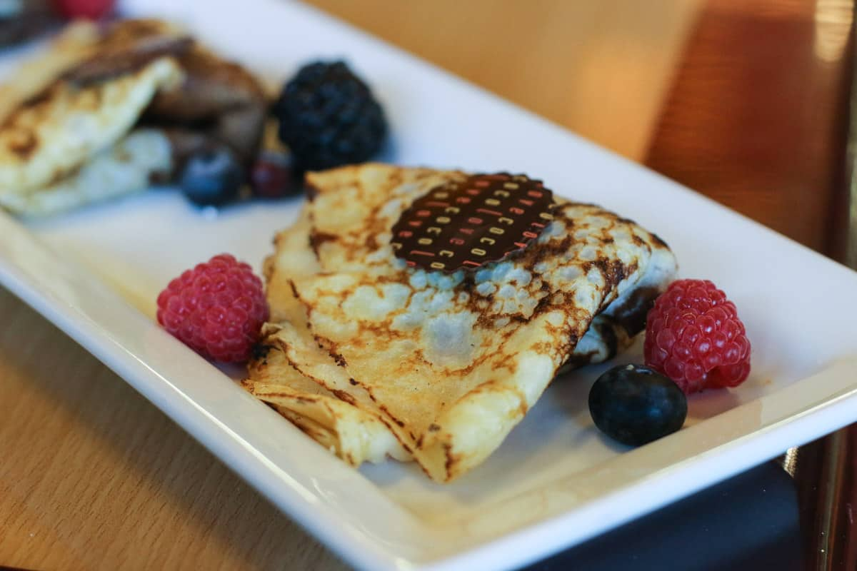 Crépes in a Chocolate Shop, Atelier Ortega, Jackson Hole, femalefoodie.com