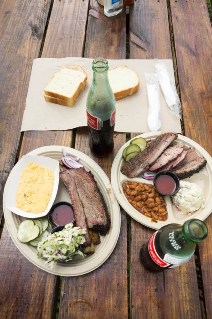 Micklethwait Craft Meats is a barbecue joint in the heart of Austin, Texas. Tom Micklethwait serves up classic smoked beef ribs, pulled pork, smoked sausages and more. Not only are there delicious meats, but sides that will knock your socks off. Buttermilk and Pecan Pies finish off the perfect Texas meal.