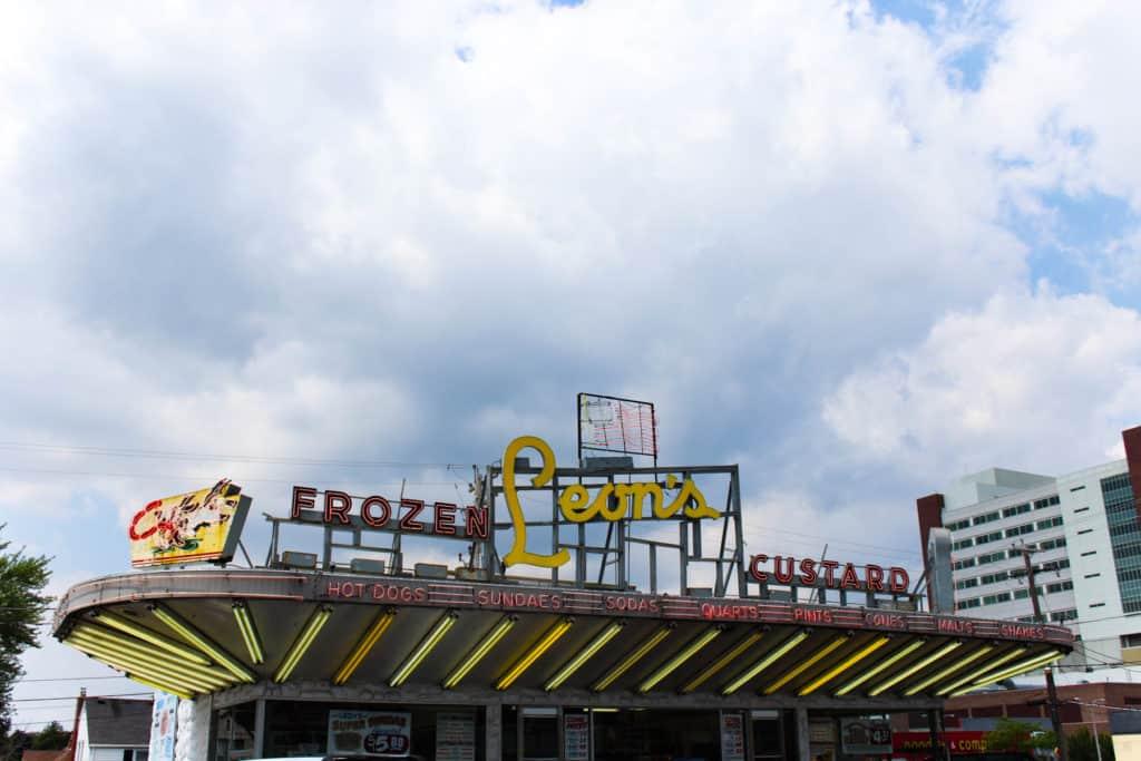 Female Foodie Milwaukee: Leon's Frozen Custard