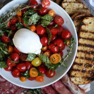 Marinated Tomatoes & Burrata