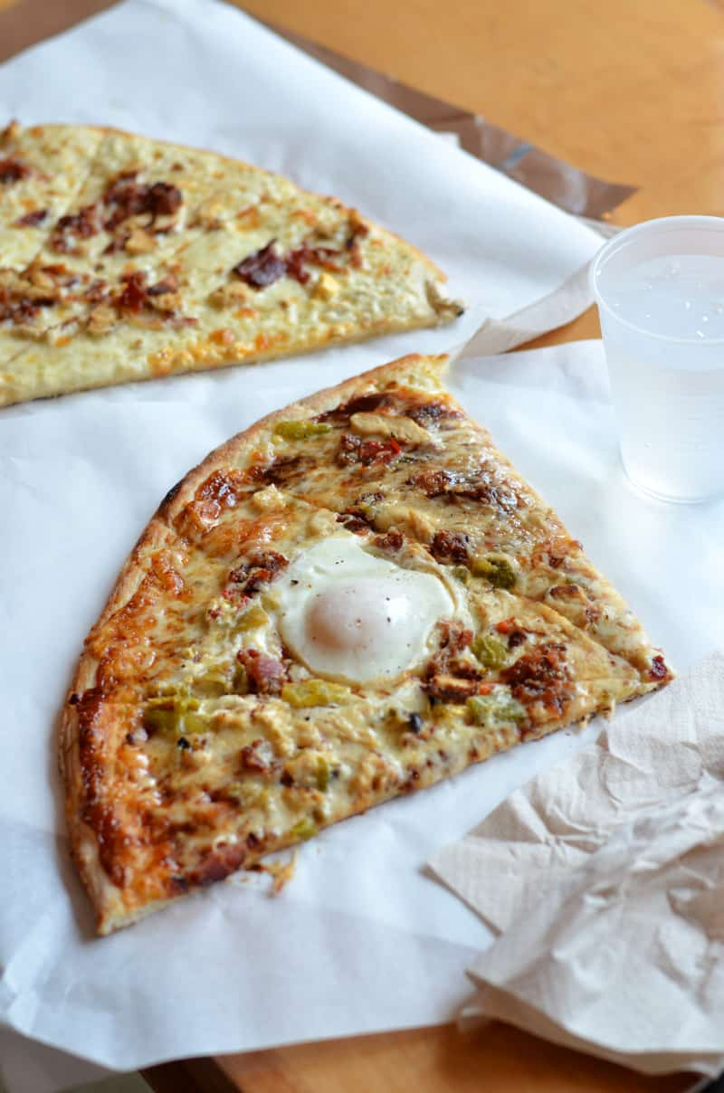 Slab Pizza in Provo, Utah is the perfect place to find loads of delicious, creative pizzas.
