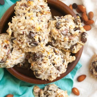 Four Ingredient Almond Joy Cookies