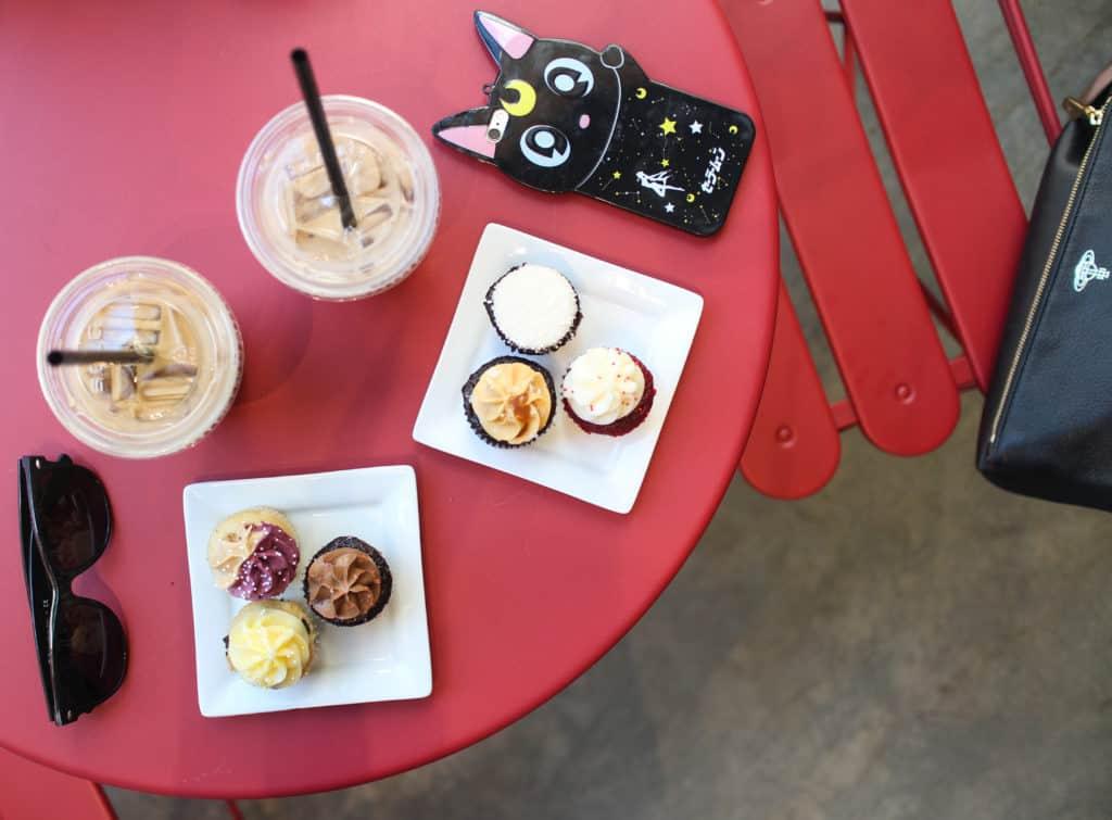Portland - Saint Cupcake - assorted mini cupcakes