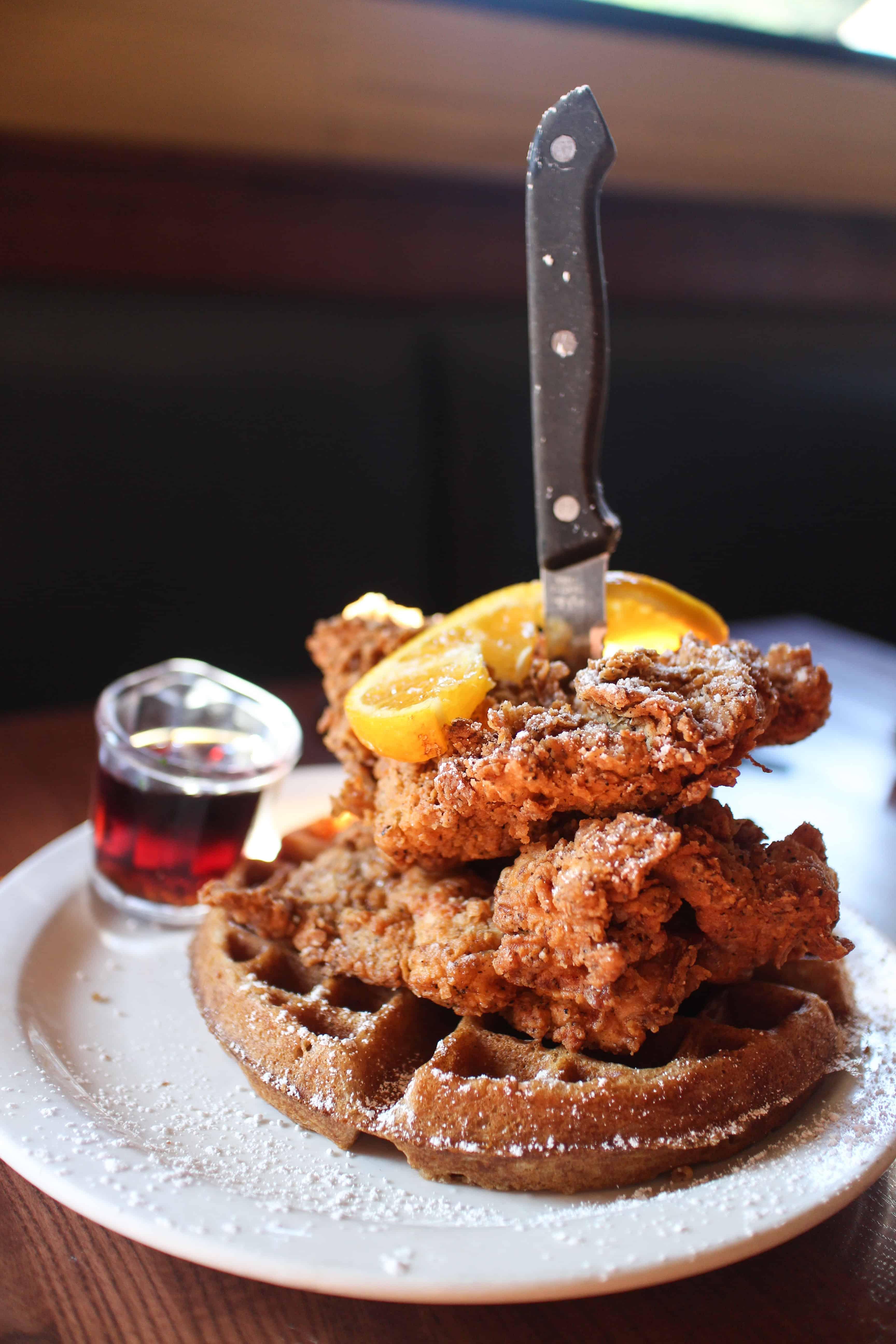 Portland - Screen Door - Fried Chicken and Waffles