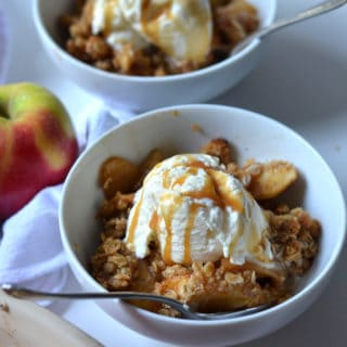 One-Bowl Apple Crisp