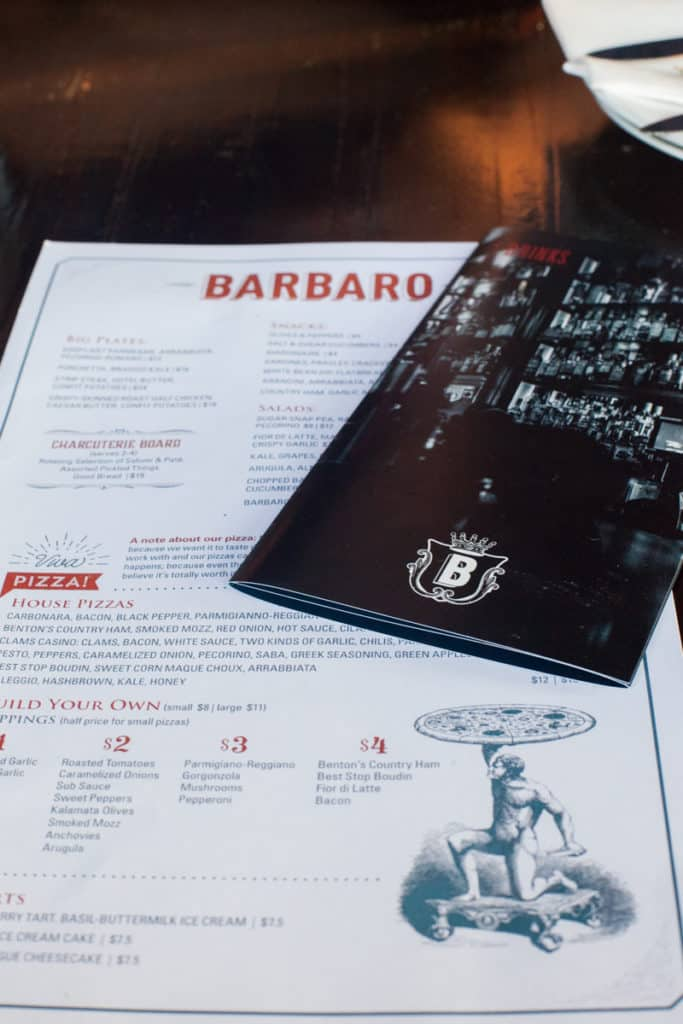 Barbaro Pizza in San Antonio, Texas!