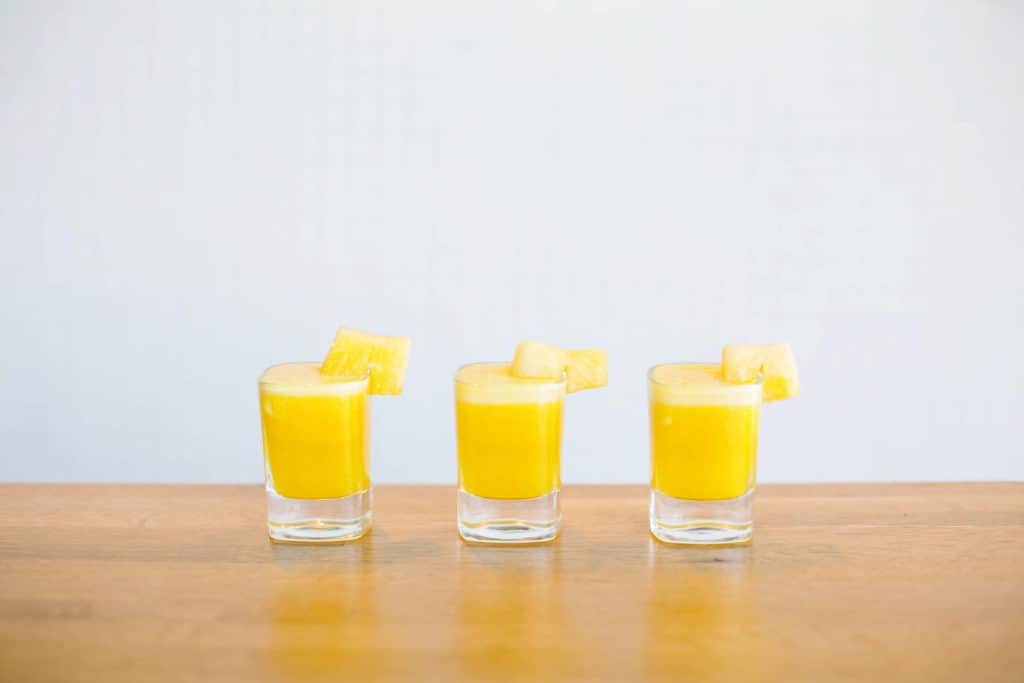 Pineapple Turmeric Shots