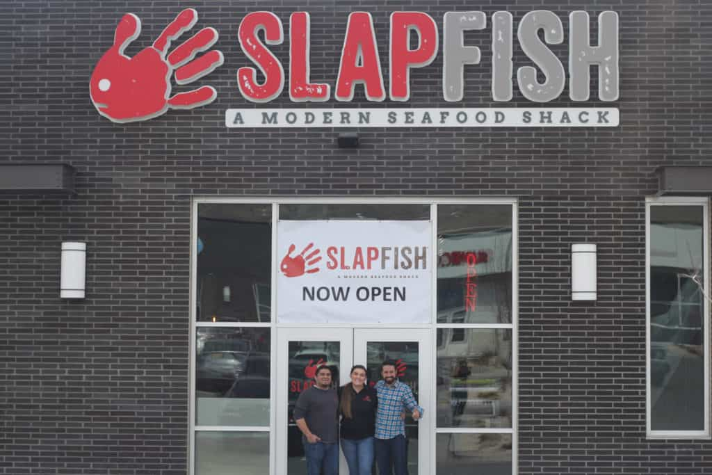SlapFish, Grand Opening, owners, femalefoodie.com