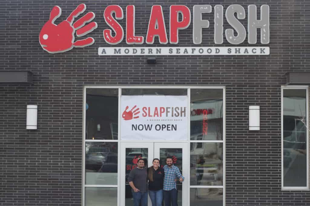 SlapFish, Grand Opening, owners, femalefoodie.com