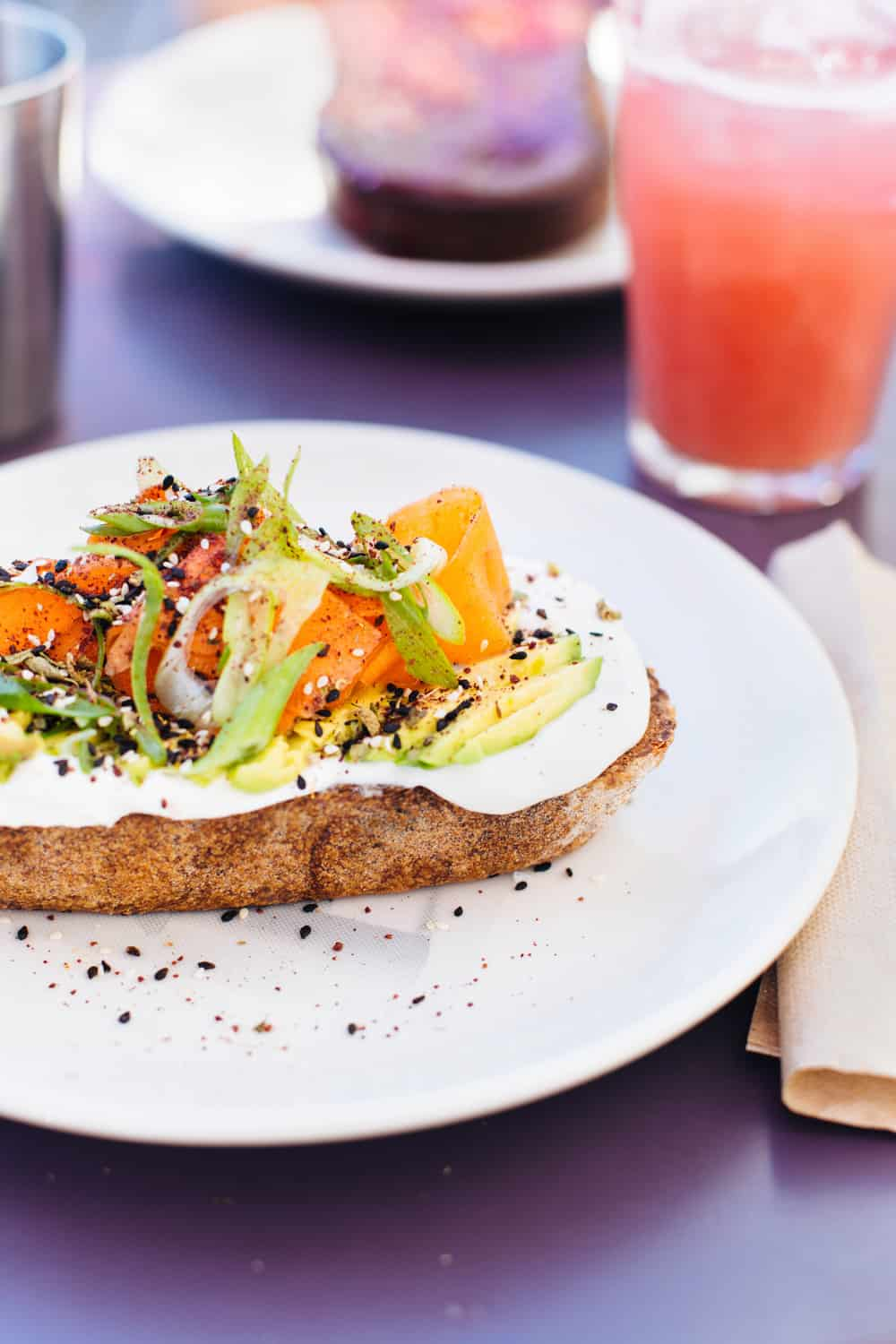 A local's list of the Top 10 Avocado Toasts that can be found all around Los Angeles!