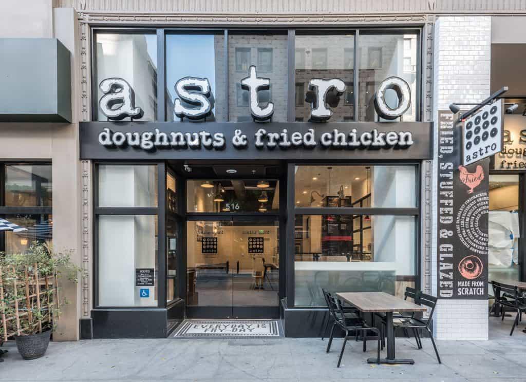 Astro Doughnuts Exterior
