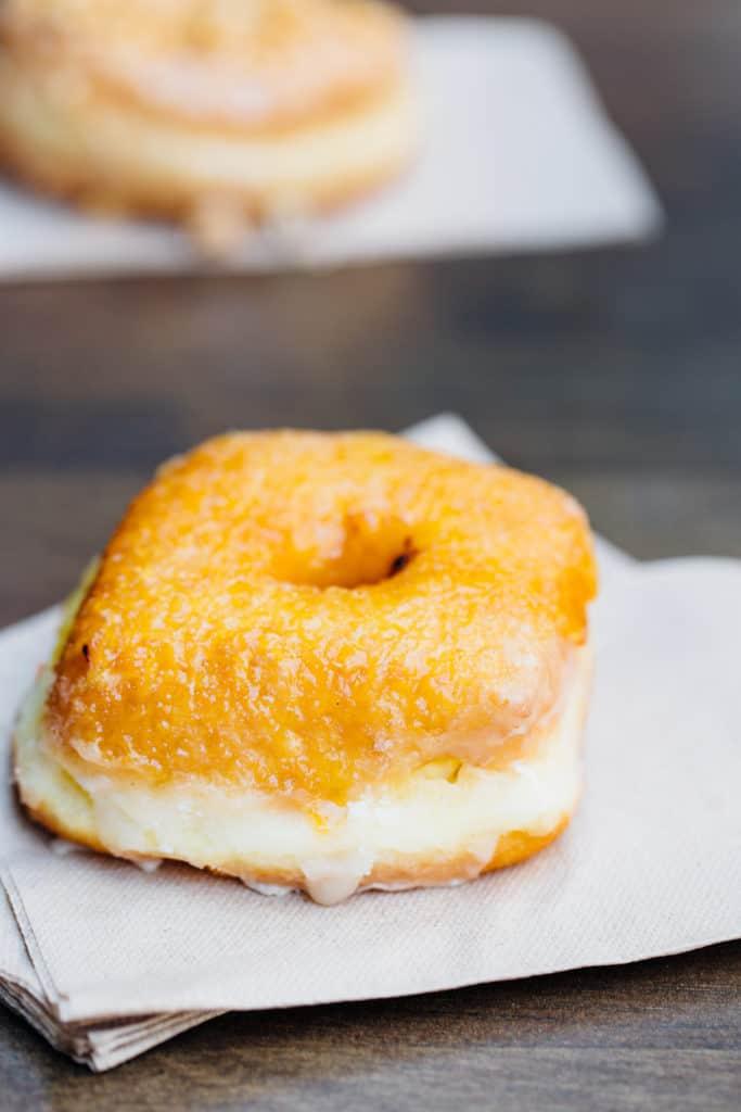 Creme Brulee Doughnut