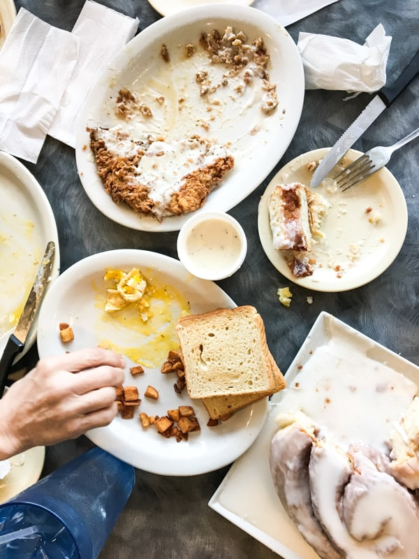 Lulu's Bakery & Cafe: Great greasy spoon home to 3lb cinnamon rolls, Texas sized chicken fried steak, and all the diner classics done right.