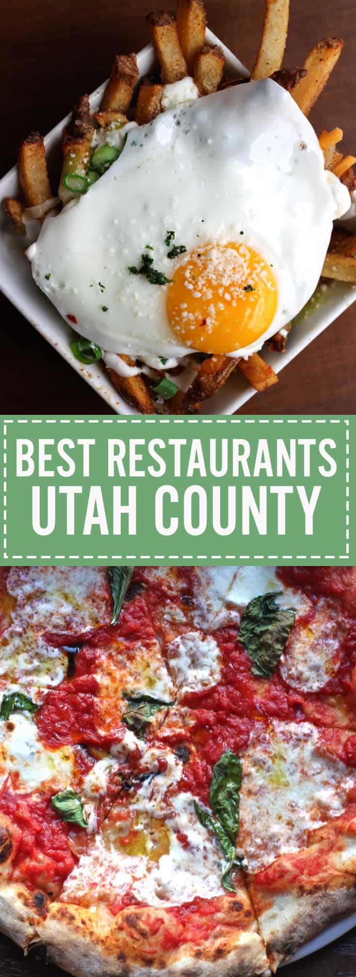 A list of the best restaurants in Utah County including a bonus list of best dessert spots. See if your favorites are on the list!