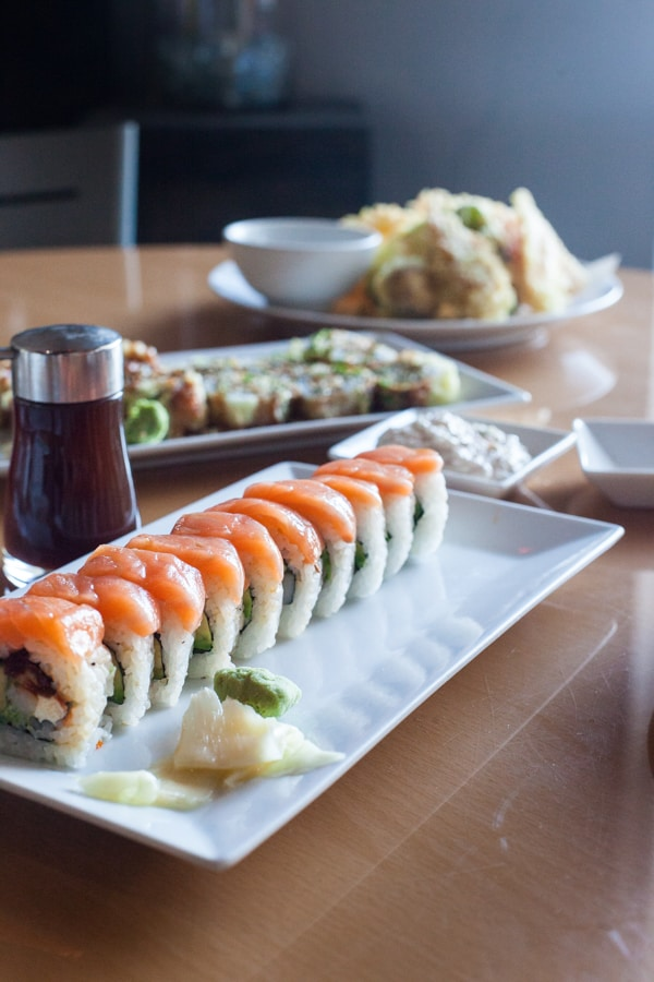 Sushi Seven: a sushi restaurant in San Antonio with Mexican influences and traditional favorites.