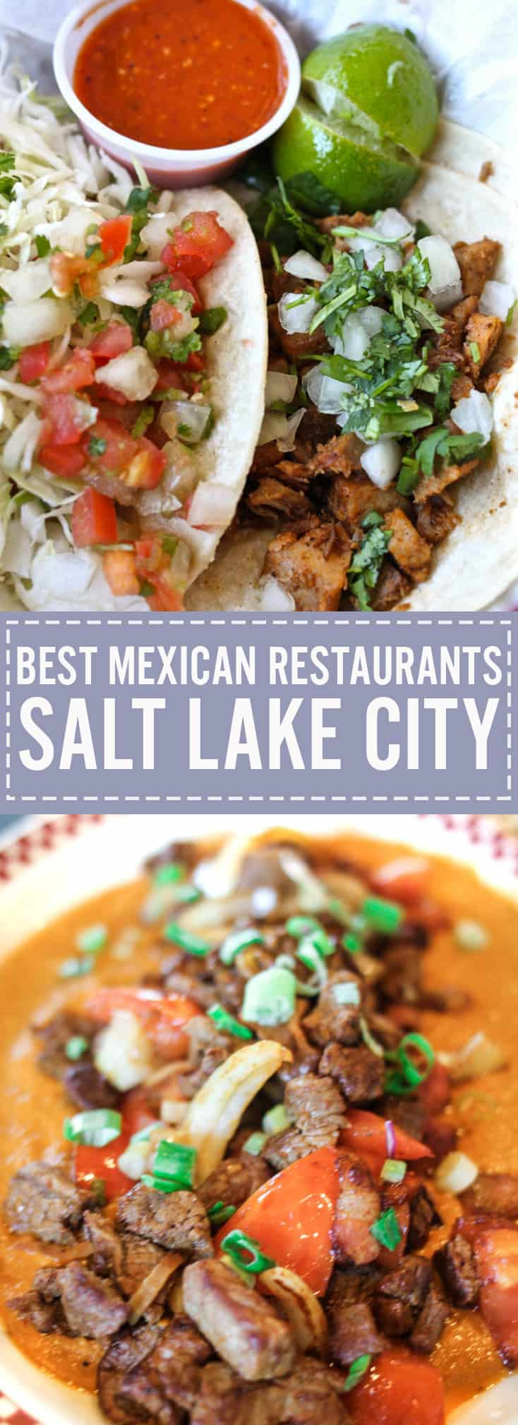A full post on list of restaurants for the best Mexican food in Salt Lake City. Check out our top ten at femalefoodie.com!