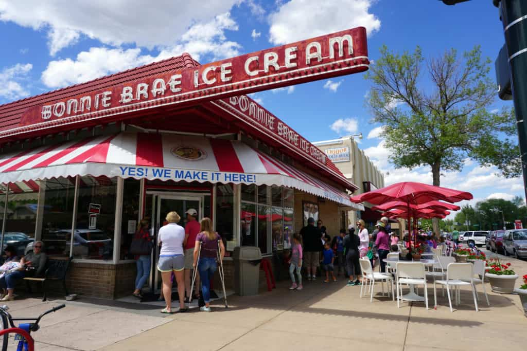 Bonnie Brae Ice Cream, an old-fashioned creamery, has been serving homemade ice cream for over 30 years!