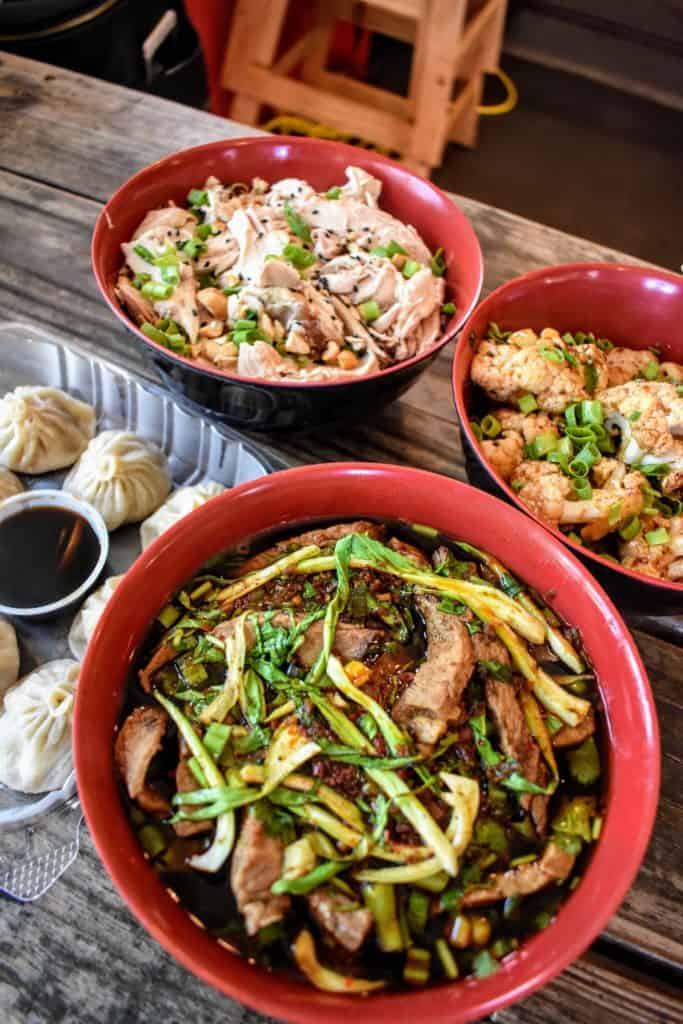 Monkey King Noodle Co. brings hot, hand-pulled noodles to Dallas and Carrollton, TX.
