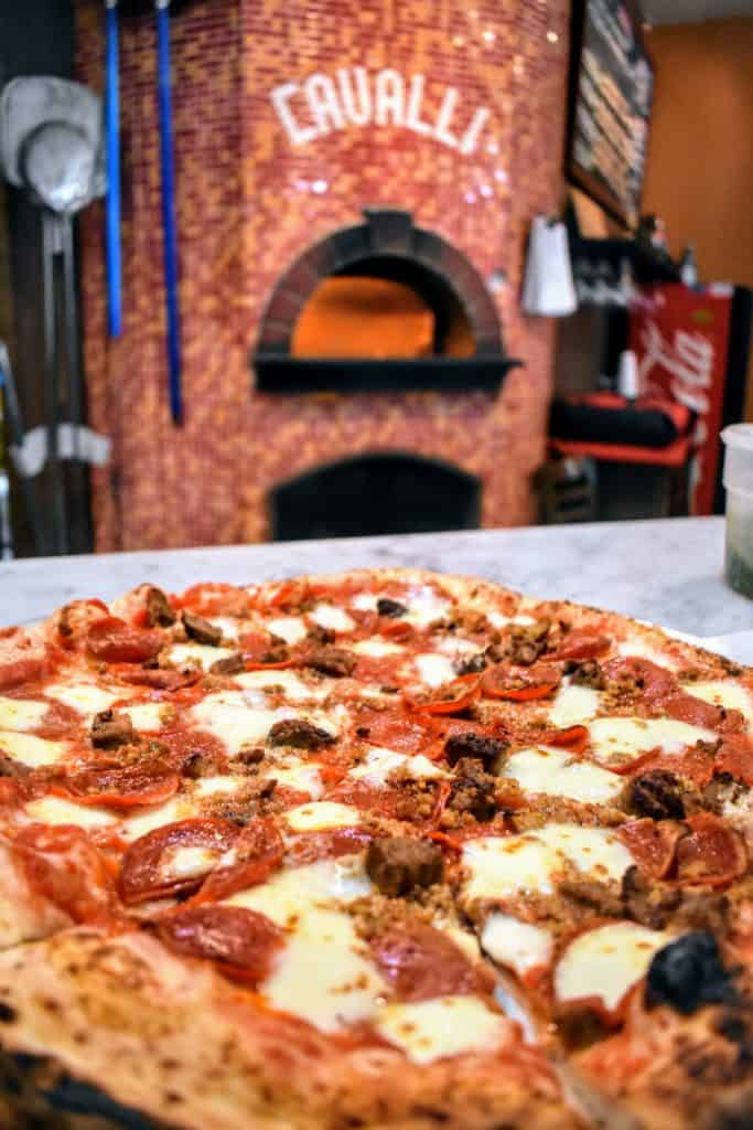 Cavalli Pizza gives you the true Naples experience right here in the Dallas suburbs.