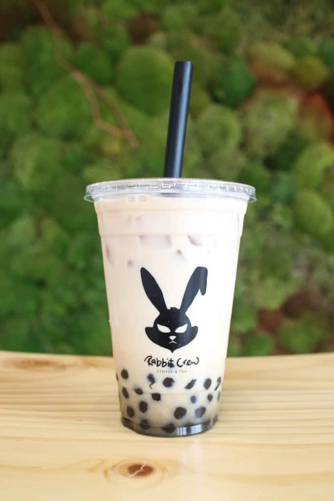 Rabbit Crew LA | Los Angeles | femalefoodie.com | Assam Black Milk Tea with Boba