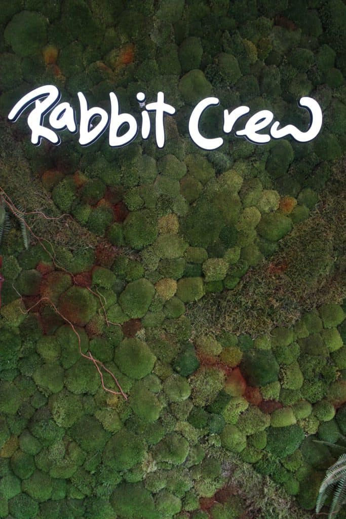 Rabbit Crew LA | Los Angeles | femalefoodie.com | Living Wall