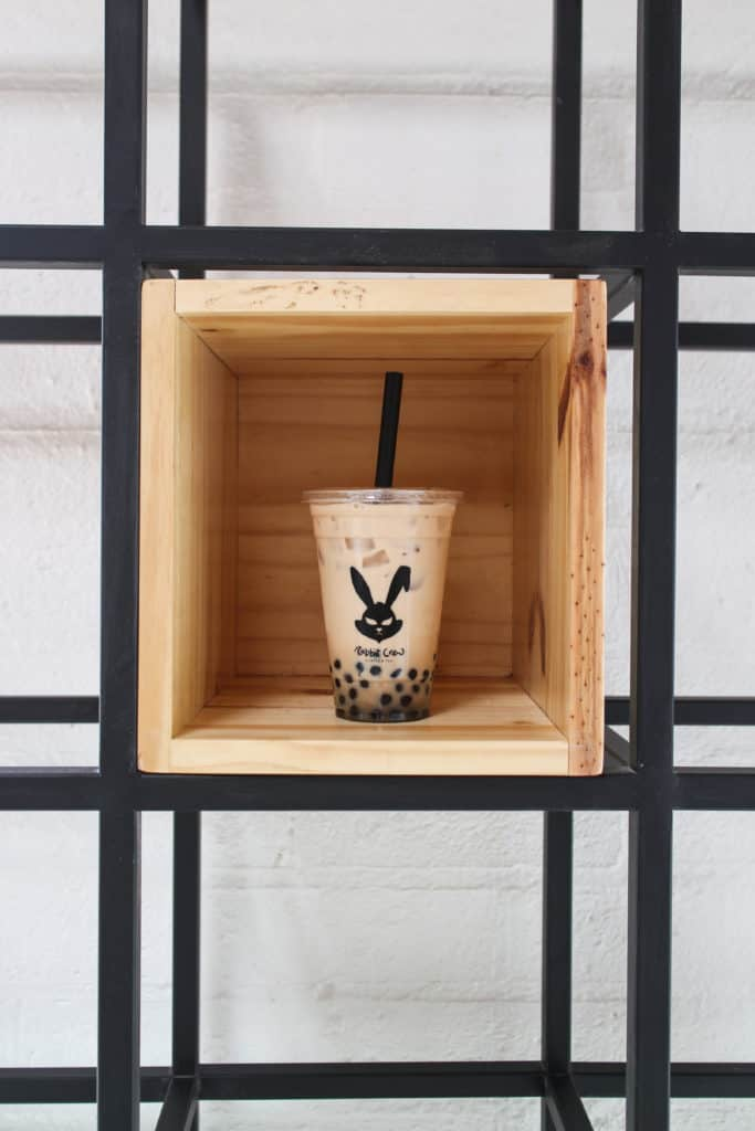 Rabbit Crew LA | Los Angeles | femalefoodie.com | Assam Black Milk Tea with Boba