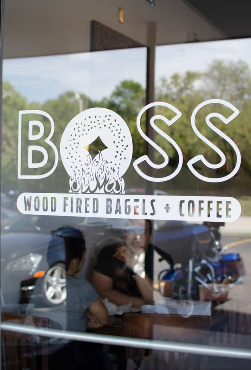 San Antonio's only New York and Montreal style bagel joint, Boss Bagel, brings artesian bites and an extensive menu to the Alamo Heights neighborhood, north of downtown. Drop in for some serious schmear, unbeatable bagels, or a caffeinated morning pick-me-up on your next midtown cruise. Full post on femalefoodie.com.