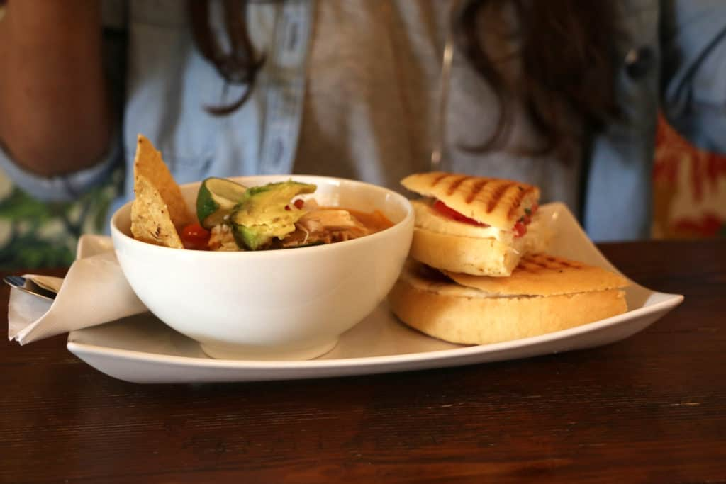 Scratch Kitchen in the Alta Vista area of San Antonio is the perfect spot for lunch options that range from salads, soups, sandwiches, and paninis!