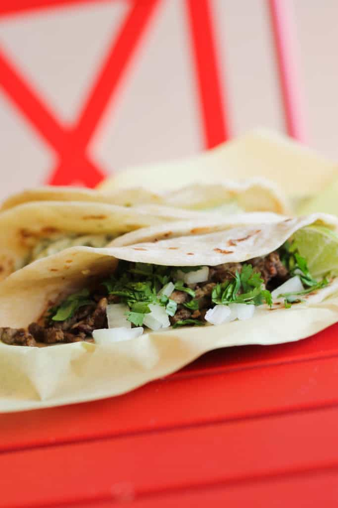 There are dozens of great places in San Antonio for breakfast tacos, but one of our favorites is Chela's Tacos. Read our full review at femalefoodie.com!
