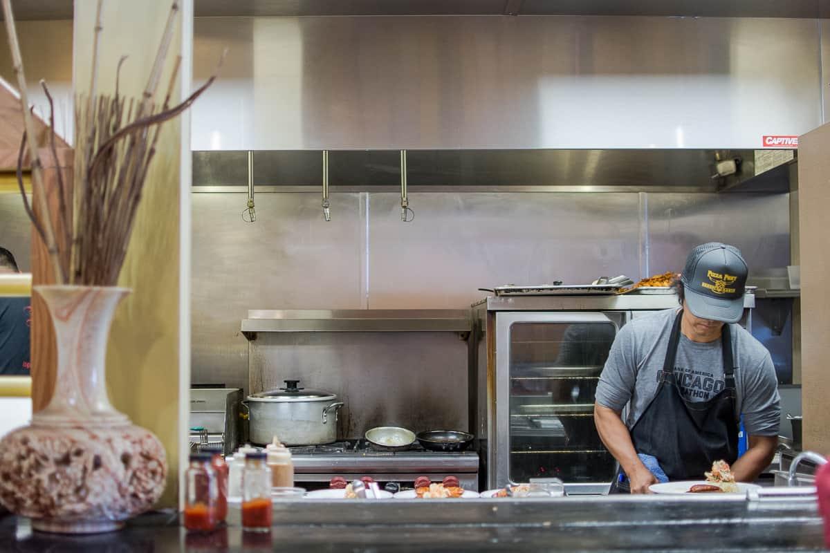 """Tucked randomly away in Laguna Hills is Break of Dawn, a legendary breakfast/brunch spot known endearingly by regulars as """"B-O-D."""""""