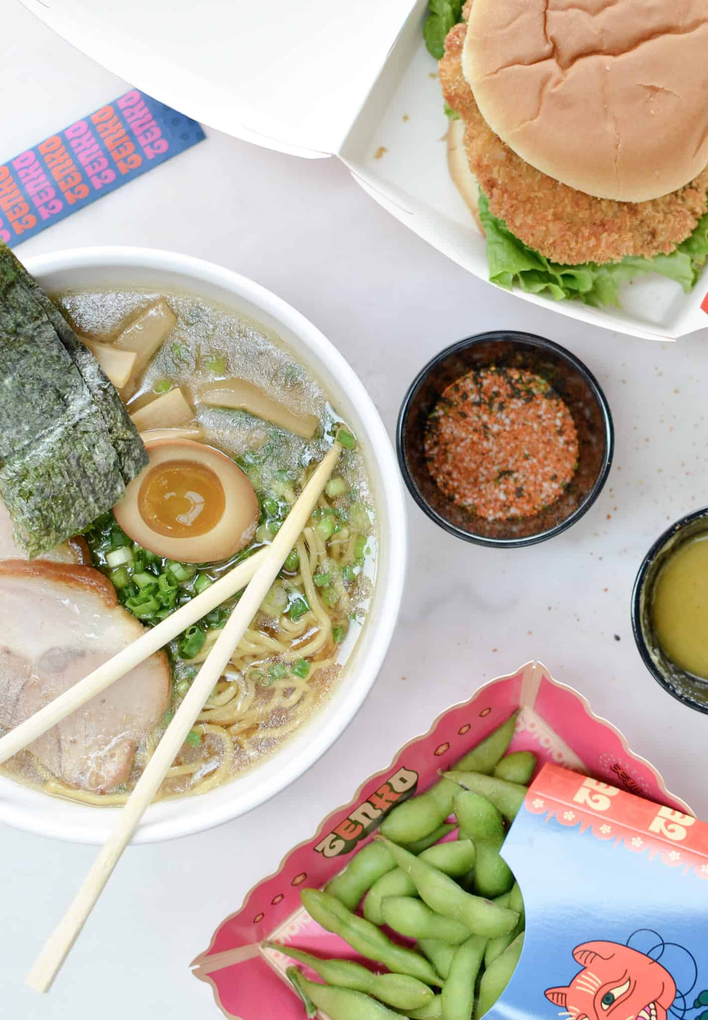 A small Japanese joint in the Pearl Food Hall, Tenko Ramen is a great one stop shop for those seeking quick and quality, hearty and flavorful bits to eat
