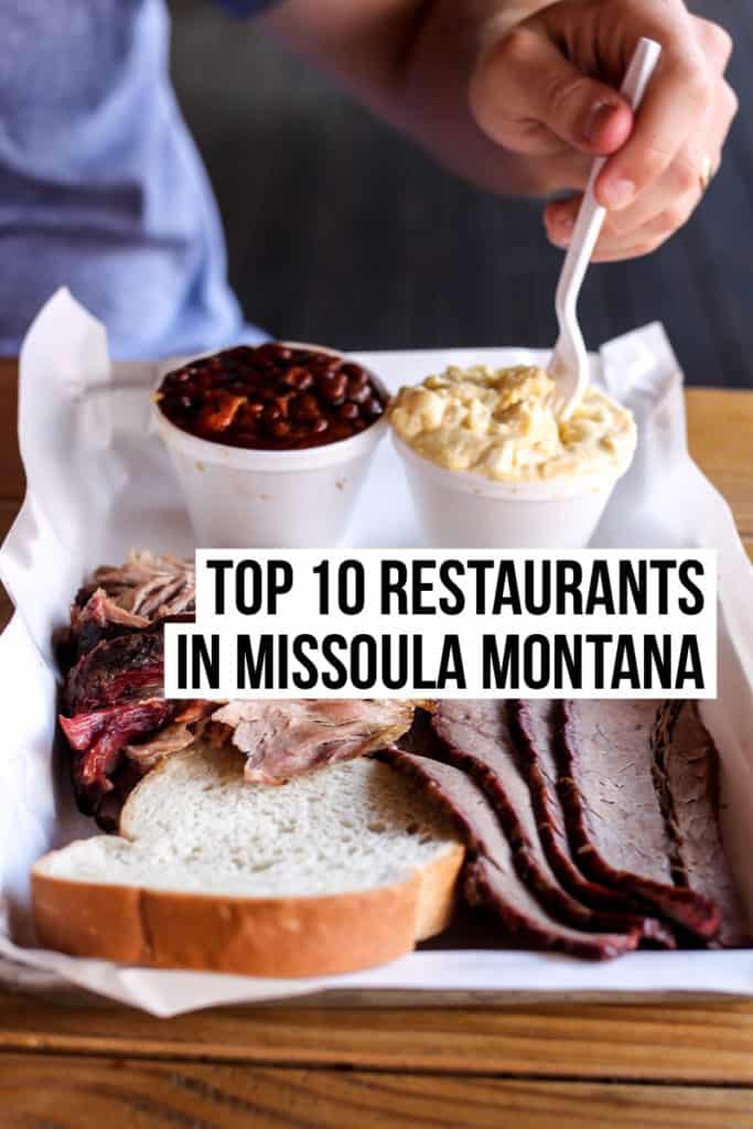 A Foo S Guide To The Top 10 Missoula Restaurants And Favorite Dessert Spots Only
