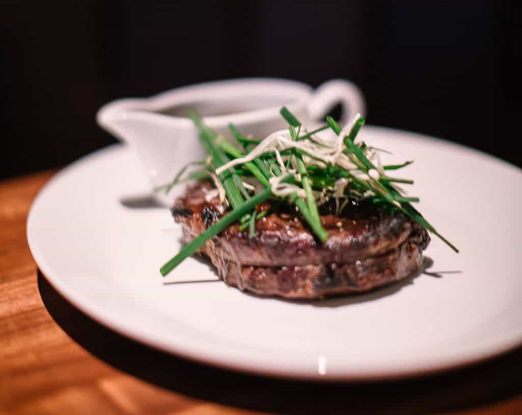 Portland: Michael Jordan Steakhouse - for full review see femalefoodie.com
