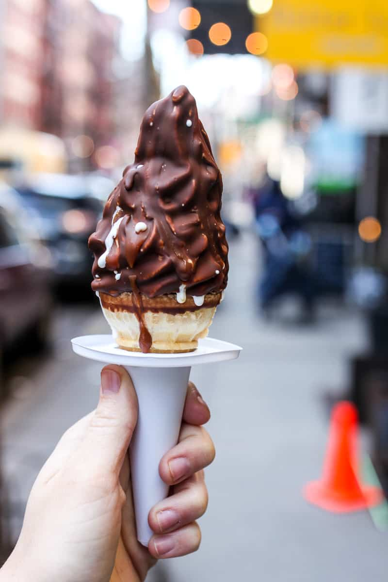 A comprehensive list of the best dessert in NYC from doughnuts to ice cream to homemade pie to chocolate chip cookies. Read now, thank us later!