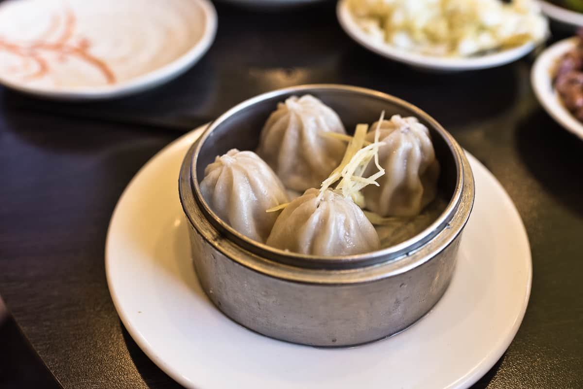 Top 8 spots for the best breakfast & brunch in Orange County. A&J Restaurant in Irvine serves hearty and delicious traditional Chinese brunch fare including this yummy Xiao Long Bao. Full post at femalefoodie.com.
