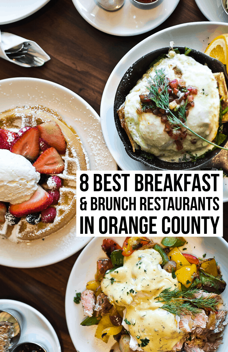 A comprehensive list of the best breakfast & brunch restaurants in Orange County from a local. Read our full post at femalefoodie.com!