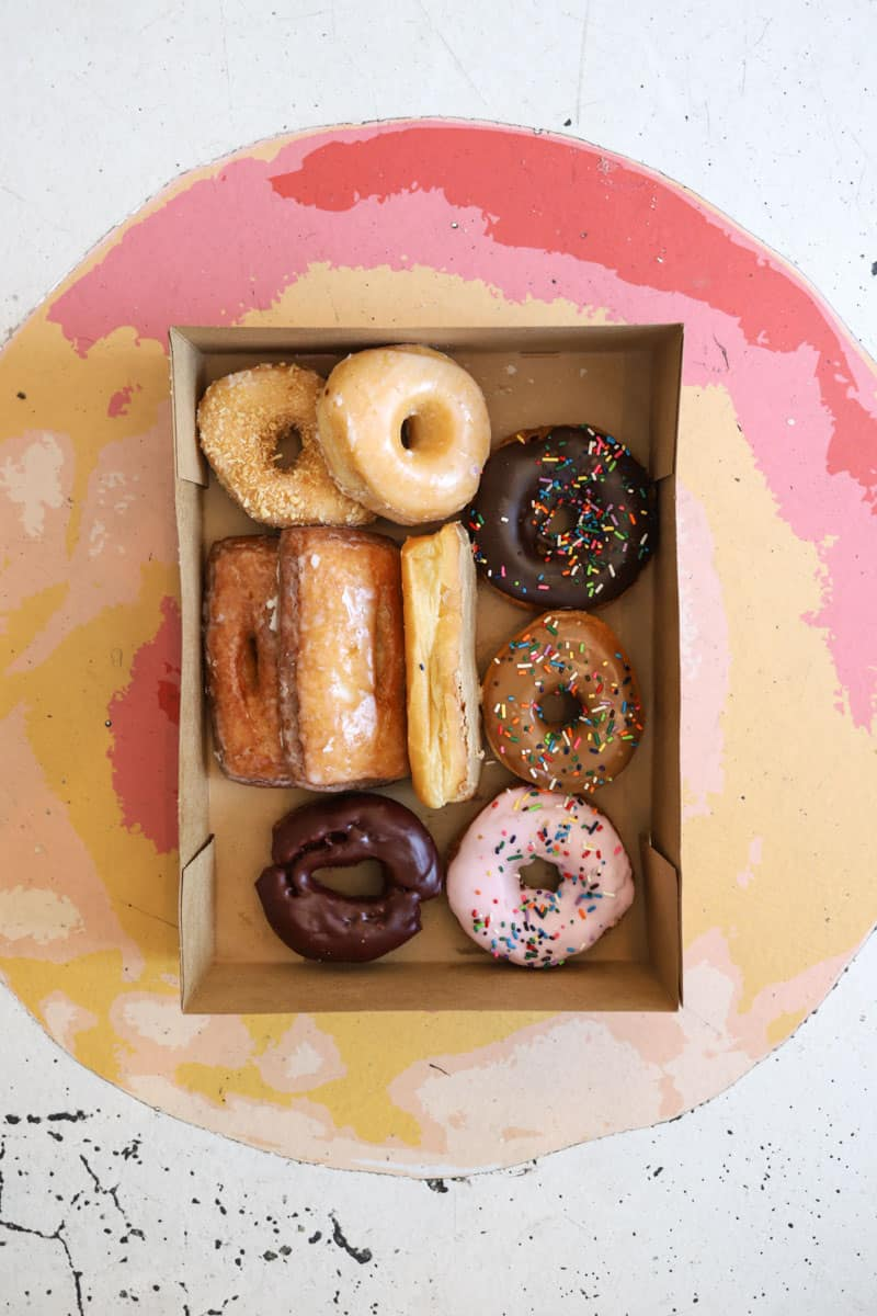 donuts from Provo Bakery