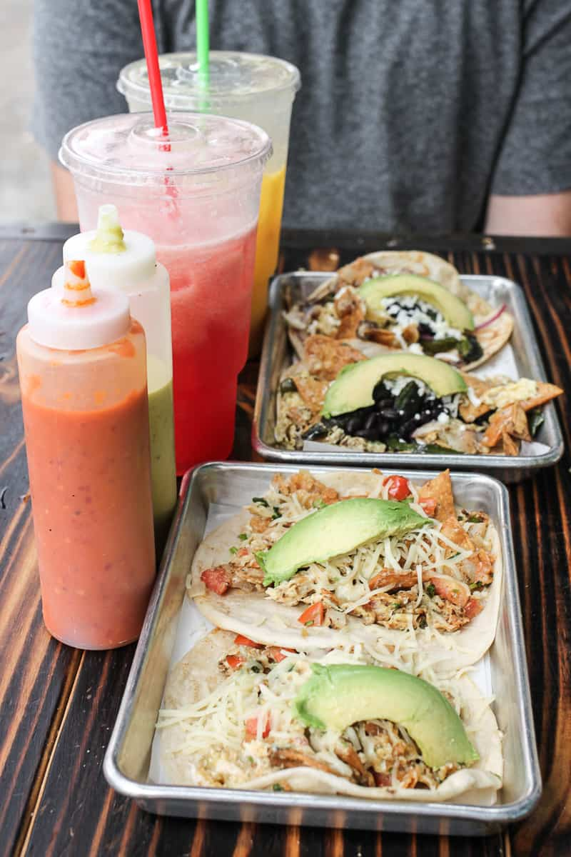 The ultimate guide to the best tacos in Austin. Read this full post for our absolute ATX favorites from street tacos to upscale tacos!