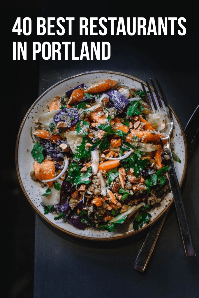 The 40 Best Restaurants in Portland: A comprehensive guide to the best of Portland Restaurants. Read our full post at femalefoodie.com!