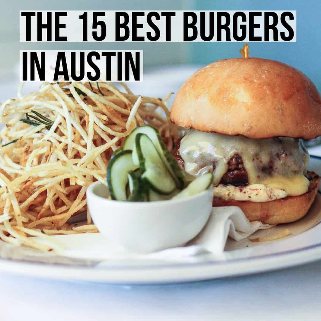 A comprehensive foodie's list of the best burgers in Austin. Read the full post at femalefoodie.com!