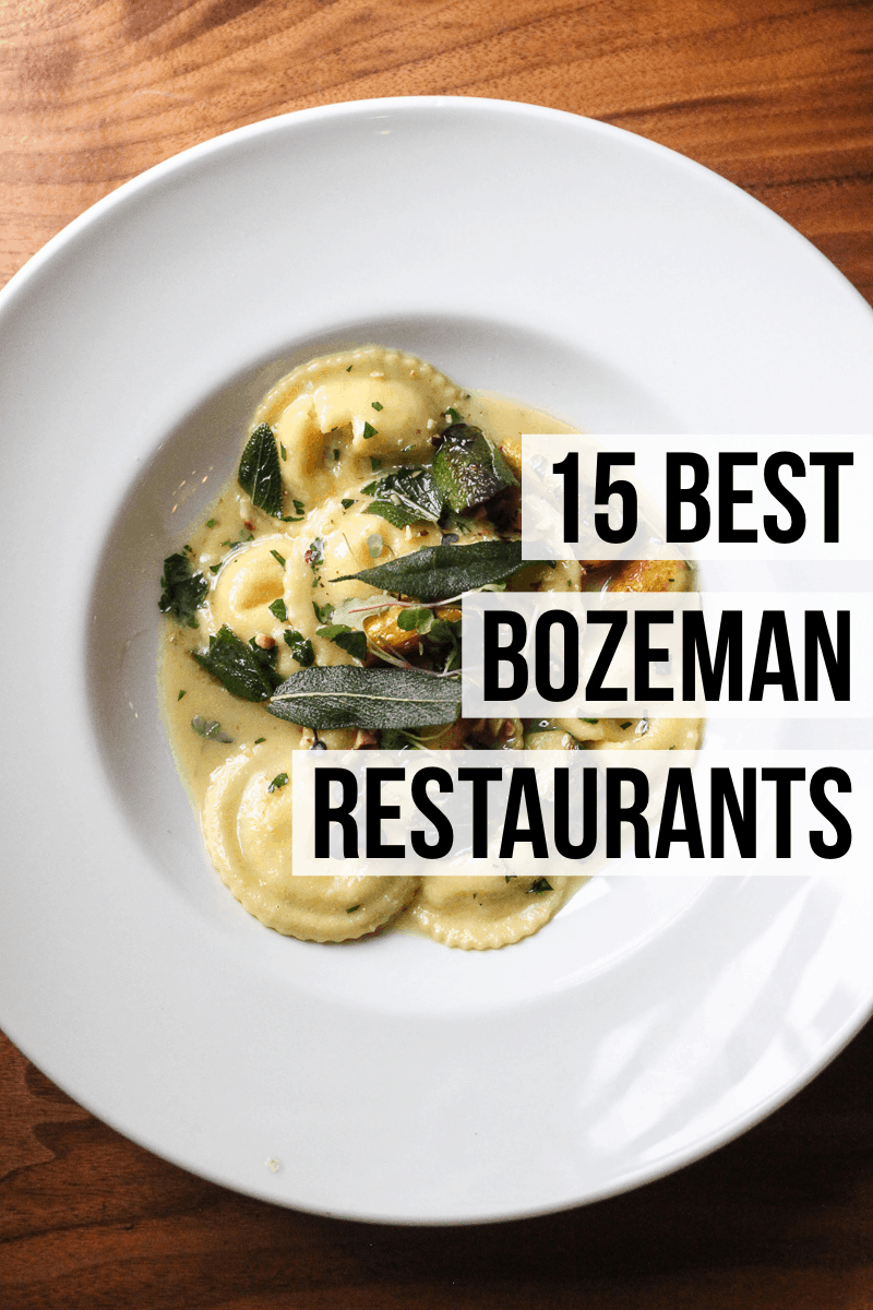 A complete list of the best Bozeman restaurants with a variety of options from pizza to burgers to pasta to fried chicken. Read the full post at femalefoodie.com!