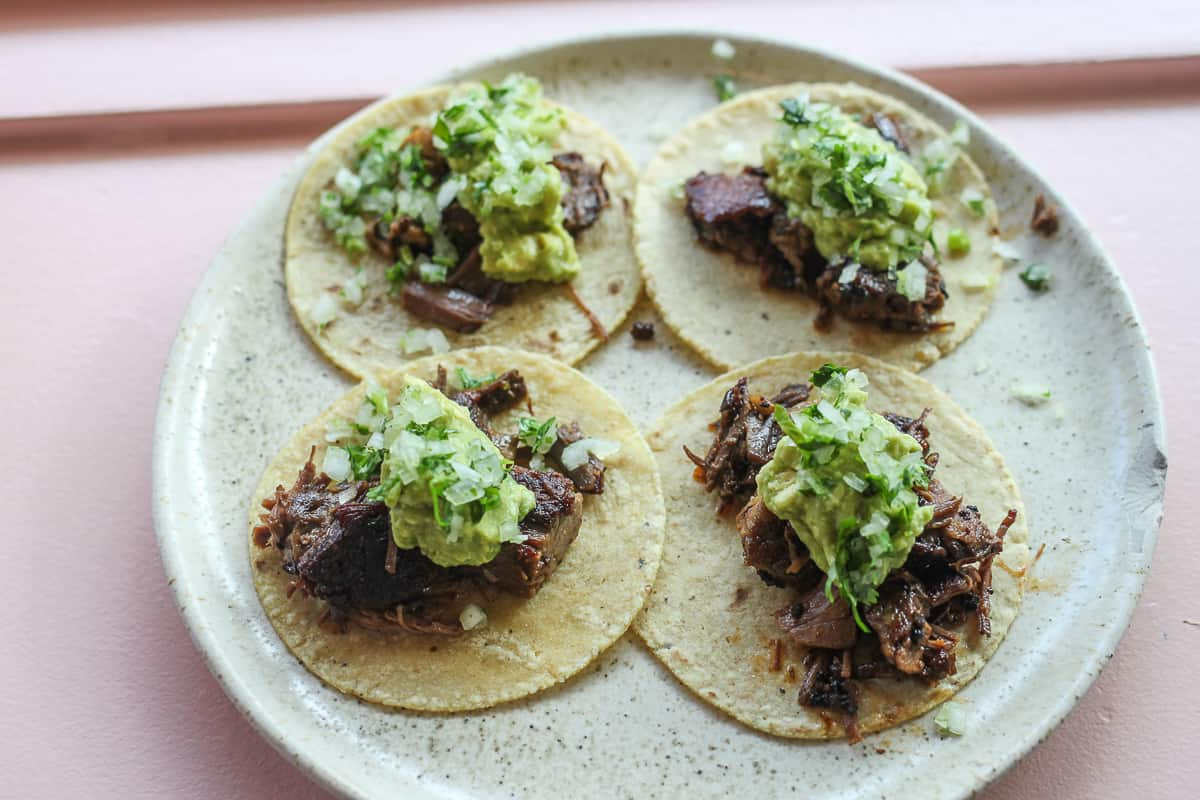 The ultimate guide to the best tacos in Austin. Read this full post for our absolute ATX favorites from street tacos to upscale tacos. Read the full post at femalefoodie.com!