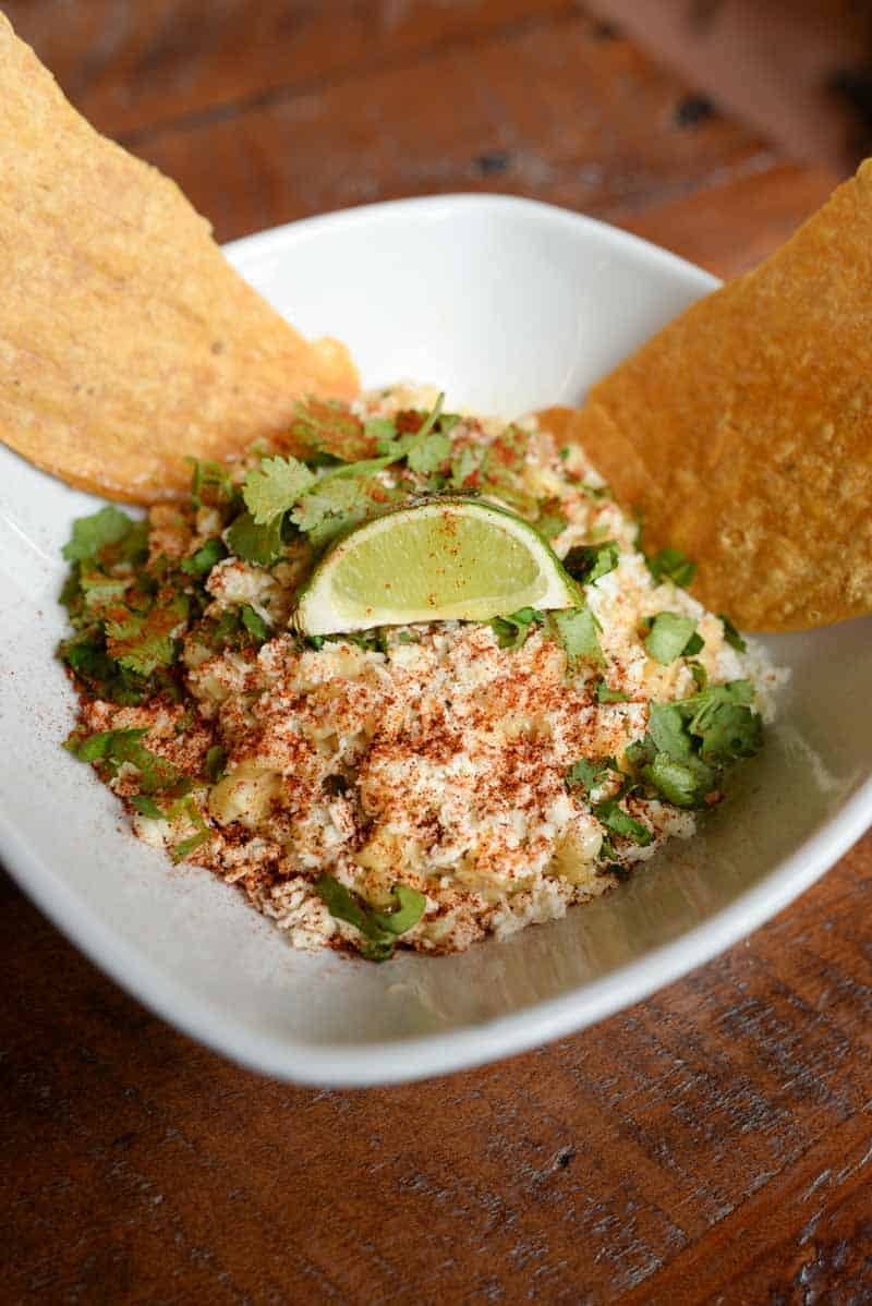 Mexican dish from Elote Cafe