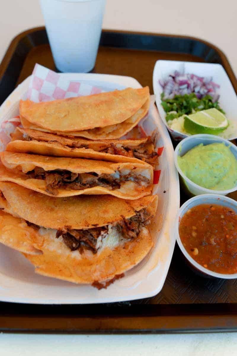 tacos from Sonora Taqueria