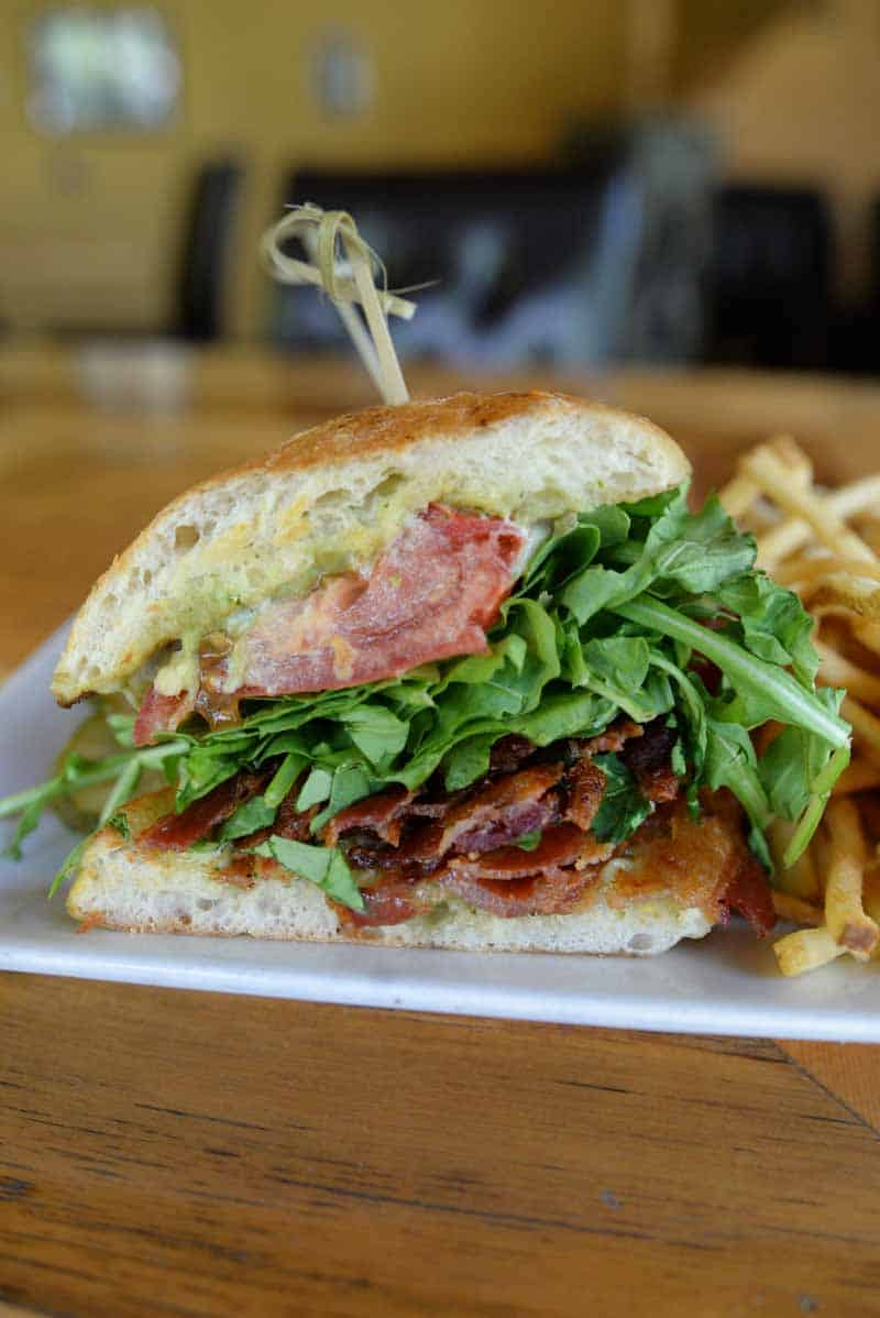 BLT from Up the Creek